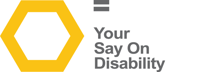 Your Say On Disability Logo
