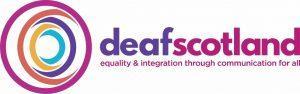 deaf Scotland logo