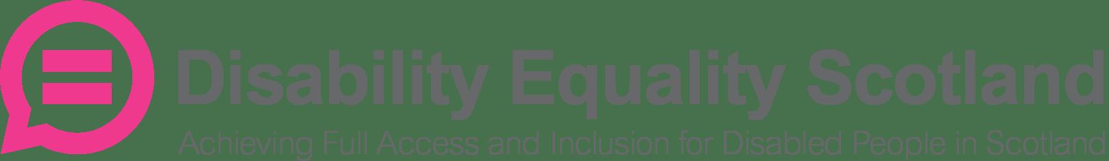 Disability Equality Scotland