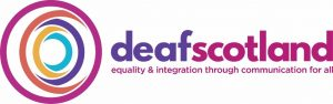 deaf Scotland logo